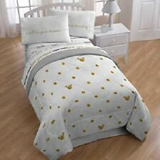 Disney Minnie Mouse Gold Dots Reversible Twin/Full Comforter  *New*