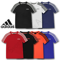 Adidas Boys T Shirts Tops Short Sleeve Kids Tee Junior Age 9 10 11 12 13 14 Yrs