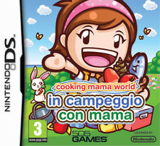 Cooking Mama World-Campeggio con Mama NDS - totalmente in italiano