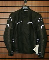 JOFAMA VOYAGE  MOTORCYCLE TEXTILE WATERPRROF JACKET IN BLACK, SIZE 52