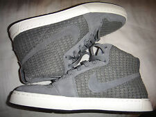 Nike AIR ROYAL MID Knit Gris Foncé Baskets Taille 8 Rare!!! 456574-002