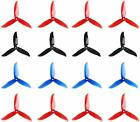 16pcs DALPROP T5045C 5 Inch 3-Blades CW CCW Tri-Blade Propeller, Best Match for