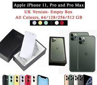 Pour Apple IPHONE 11, Pro Et Pro Max Boîte Vide , Rangement- 64/128/256/512 GB