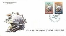 Albania 1999. 125th anniversary UPU Universal Postal Union. FDC MNH. Mi 2706-07