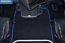 VELOUR  FLOOR MATS SET- BLACK  FIT  SCANIA R  2013-17 STREAMLINE ,  AIR SEATS