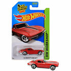 NEW 2014 Hot Wheels 1:64 Die Cast Car HW WORKSHOP Red '64 Corvette Sting Ray 223