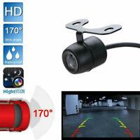 170° CMOS Mini Color Reverse Backup Car Front Rear View Camera Kit Night Visi,X