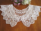 Again!!@ Vintage Style Beautiful Hand Tatting Lace Cotton Collar White