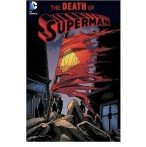 DC Comics The Death of Superman (New Version) Paperback  Like New