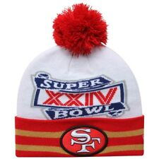 new concept 51c8d c222d San Francisco 49ers Football Super Bowl XXIIV Beanie Era Pom Hat Ship