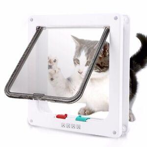 """4 Way Locking Cat Door, Width: 9.25"""" (235mm), Height: 9.84"""" (250mm)"""