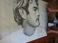 """Vintage ORIGINAL 1967 Timothy Leary Psychedelic Era Poster 41"""" x 29 1/4"""""""