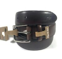 Dockers Genuine Leather Belt  Brown Size 48 New