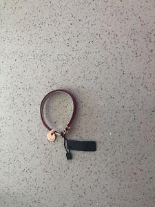 Mimco Interlink Bracelet Magenta Pink