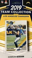 Los Angeles Chargers 2019 Donruss Factory Sealed 11 Card Team Set