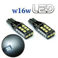 2 Birnen W16W T15 15 Weiße LED Anti Fehler Canbus Rückfahrscheinwerfer Hintere