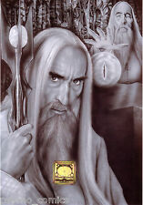 More details for lord of the rings. a4 14 original print.s duncan gutteridge.exclusive limited