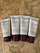 Keranique Scalp Stimulating Shampoo Travel Size 1oz each ( set 4)