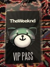 The Weeknd Kiss Land Tour Collectible VIP Pass