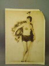Vintage Dita Parlo Peacock Outfit German Actress Photograph by Henry Miller
