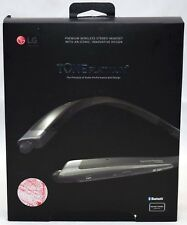 LG Tone Platinum HBS-1100 Wireless Stereo Curved Neckband Headphones BLACK
