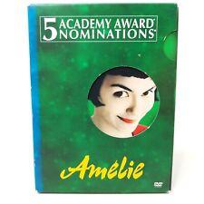 Amelie (Dvd, 2002, 2-Disc Set, Special Edition) Mathieu Kassovitz, Audrey Tautou