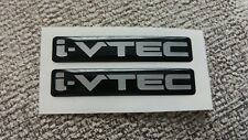 ****Civic Accord K20 K24  i-VTEC DOHC decals stickers  Prelude 3D GEL DOMED****
