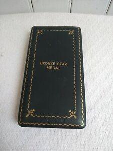 World War II Bronze Star Medal Box FREE SHIPPING!!!!!!