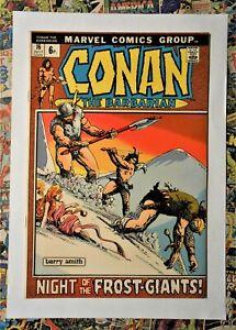 CONAN THE BARBARIAN #16 - JUL 1972 - FROST GIANTS APPEARANCE! - VFN+ (8.5) PENCE