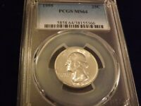 1958-D  25C      Washington Quarter        PCGS MS 65