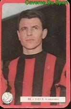 023 JACQUES FOIX OGC.NICE FOOTBALL CARTE MIROIR SPRINT 1960's RARE