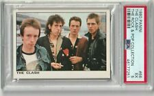 1980 The Clash Card PSA 5 Panini The Rock & Pop Collection # 66