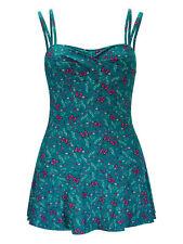 Joe Browns Green Butterfly Print Twist Front Swim Dress  14 16 18 RRP £45