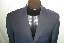 HUGO BOSS Angelico/Lucca 38R - Navy Blue Mini-Checkered