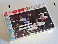 1980s Star Trek 3 Ship Set AMT/ERTL Model Kit- Sealed (SRP-256)