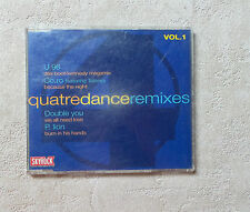CD AUDIO/VARIOUS QUATRE DANCE REMIXES VOL.1 CD COMPILATION 4T 1992 PANIC RECORDS