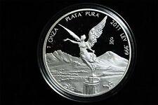 2011 MEXICO 1OZ PROOF LIBERTAD COIN W/ CAPSULE #MEX003