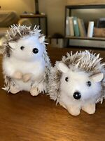 "Hedgehog Fall Decor Set Of 2- Natural Fiber - 5"" And 4"" Tabletop Decor"
