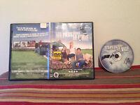Les pieds dans le vide DVD case & disc FRENCH quebec