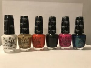 Opi Mustang Collection Pack Of 6