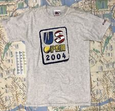 Vintagw Official Usta Member 2004 Us Open Gray Small T Shirt