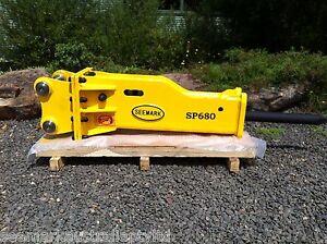 SP-680 Hydraulic Rock Breaker / Hammer suit 4 - 7 Ton Excavator