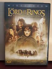 Lord of the Rings The Fellowship of the Rings - DVD - Region 1 - 2-Discs Edition