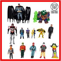 Vintage Action Figure Bundle Mixed Lot Various Characters Batman Power Rangers