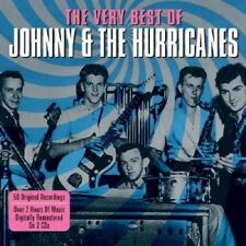Johnny & The Hurricanes Very Best Of 2-CD NEW SEALED Red River Rock/Beatnik Fly+
