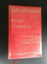 Dard San Antonio oeuvres complètes Fleuve Noir tome 4 TTBE