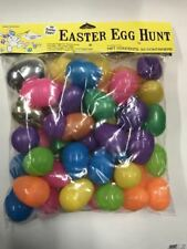 Easter Unlimited Easter Egg Hunt Fillable Eggs - 50 Large Egg Containers