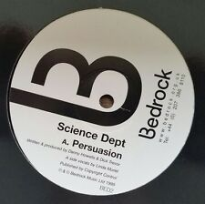 """Science Dept """"Persuasion/Repercussion"""" * Bedrock-bed2"""