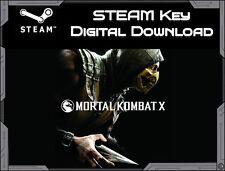Mortal Kombat X - PC Steam cd Key Download *Fast Delivery*  Region Free