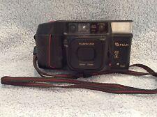 *Untested* Vintage Fuji (DL-400) Tele QD 35mm Auto Focus Film Camera With Case